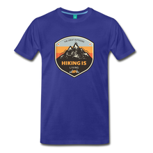 Load image into Gallery viewer, Men's Hiking T-Shirt - royal blue