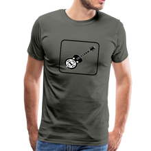 Load image into Gallery viewer, Men's Dobro Icon T-Shirt - asphalt gray
