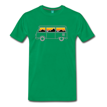 Load image into Gallery viewer, Men's Van Mountains T-Shirt - kelly green