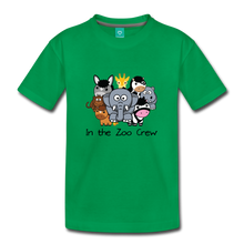 Load image into Gallery viewer, Kids' In the Zoo Crew T-Shirt - kelly green