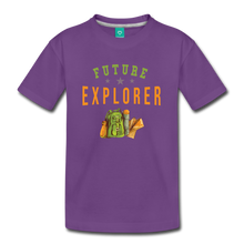 Load image into Gallery viewer, Kids' Future Explorer T-Shirt - purple