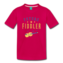 Load image into Gallery viewer, Toddler Future Fiddler T-Shirt - dark pink
