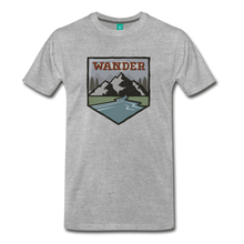Load image into Gallery viewer, Men's Wnderer T-Shirt - heather gray