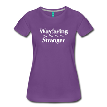 Load image into Gallery viewer, Women's Wayfaring Stranger T-Shirt - purple