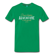 Load image into Gallery viewer, Men's Outdoor Adventure Canada T-Shirt - kelly green