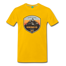 Load image into Gallery viewer, Men's Hiking T-Shirt - sun yellow