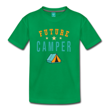 Load image into Gallery viewer, Kids' Future Camper T-Shirt - kelly green