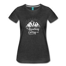 Load image into Gallery viewer, Women's Mountains T-Shirt (white) - charcoal gray