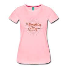 Load image into Gallery viewer, Women's Mountain Calling T-Shirt - pink