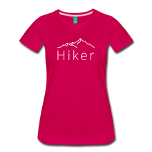 Load image into Gallery viewer, Women's Hiker T-Shirt - dark pink