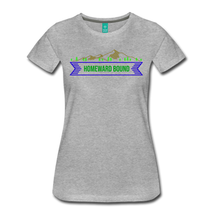 Women's Homeward Bound T-Shirt - heather gray