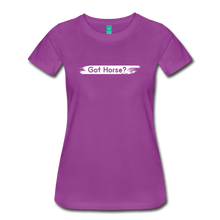 Load image into Gallery viewer, Women's Got Horse T-Shirt - light purple