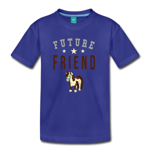 Kids' Future Friend T-Shirt - royal blue