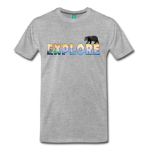 Load image into Gallery viewer, Men's Explore T-Shirt - heather gray