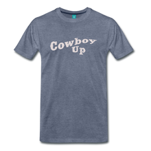 Load image into Gallery viewer, Men's Cowbou Up T-Shirt - heather blue