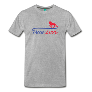Men's True Love T-Shirt - heather gray