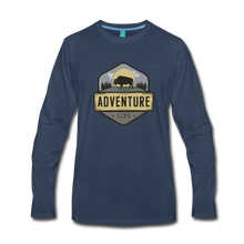 Load image into Gallery viewer, Men's Adventure Life Long Sleeve Shirt - navy
