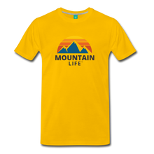 Load image into Gallery viewer, Mountain Life Shirt - sun yellow