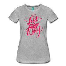 Load image into Gallery viewer, Women's Get Lost Along the Way T-Shirt - heather gray