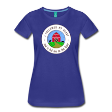 Load image into Gallery viewer, Women's Followed my Heart (colored) T-Shirt - royal blue