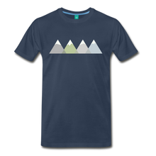 Load image into Gallery viewer, Men's Faded Mountains T-Shirt - navy