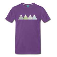 Load image into Gallery viewer, Men's Faded Mountains T-Shirt - purple