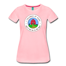 Load image into Gallery viewer, Women's Followed my Heart (colored) T-Shirt - pink
