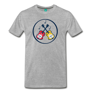 Men's Dueling Dobros T-Shirt - heather gray