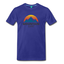 Load image into Gallery viewer, Mountain Life Shirt - royal blue