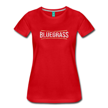 Load image into Gallery viewer, Women's Bluegrass T-Shirt - red