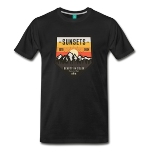 Men's Sunset T-Shirt - black