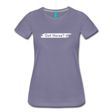 Load image into Gallery viewer, Women's Got Horse T-Shirt - washed violet