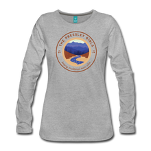 Load image into Gallery viewer, Women's The Pressley Girls Long Sleeve T-Shirt - heather gray