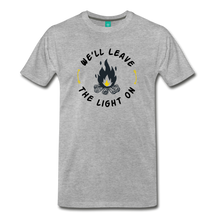 Load image into Gallery viewer, Men's We'll Leave the Light On T-Shirt - heather gray