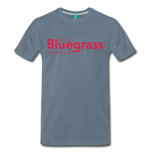 Load image into Gallery viewer, Men's Bluegrass Kinda Life T-Shirt - steel blue