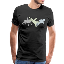 Load image into Gallery viewer, Men's Shadowed Eventing T-Shirt - black