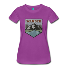 Load image into Gallery viewer, Women's Wander T-Shirt - light purple
