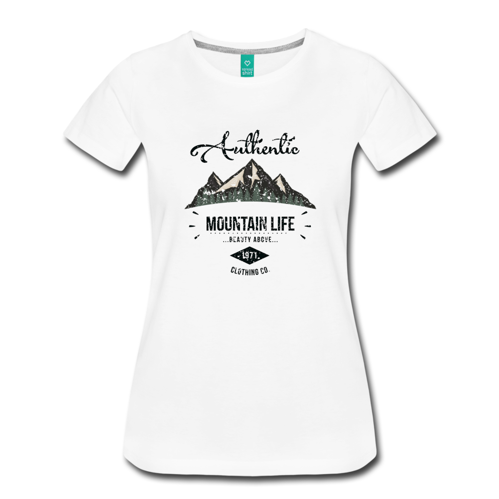 3430b36aab4c7a T- · Load image into Gallery viewer, Women's Dark Authentic Mountain Life  Clothing Co.