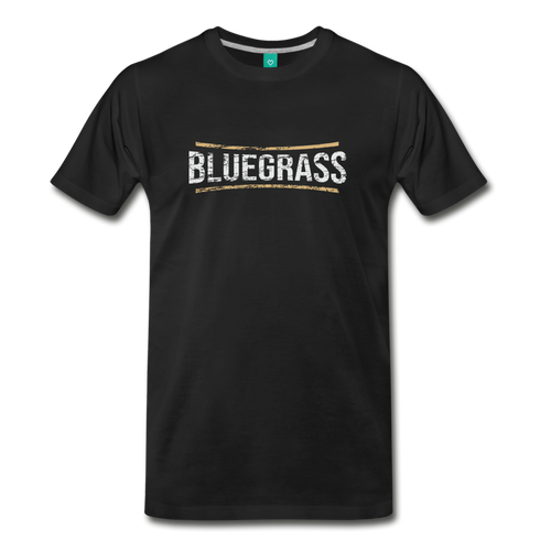 Men's Bluegrass T-Shirt - black