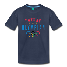 Load image into Gallery viewer, Kids' Future Olympian T-Shirt - navy