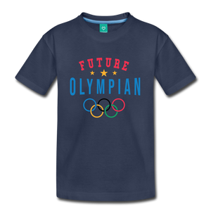 Kids' Future Olympian T-Shirt - navy