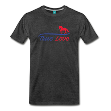 Load image into Gallery viewer, Men's True Love T-Shirt - charcoal gray