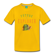 Load image into Gallery viewer, Kids' Future Explorer T-Shirt - sun yellow