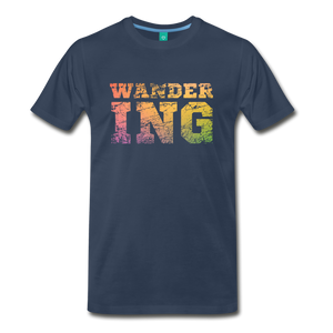 Men's Wandering T-Shirt - navy