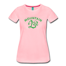 Load image into Gallery viewer, Women's Mountain Life (script) T-Shirt - pink