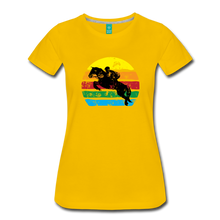 Load image into Gallery viewer, Women's Jumping Sun T-Shirt - sun yellow