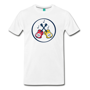 Men's Dueling Dobros T-Shirt - white