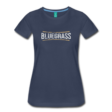 Load image into Gallery viewer, Women's Bluegrass T-Shirt - navy