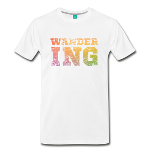Men's Wandering T-Shirt - white