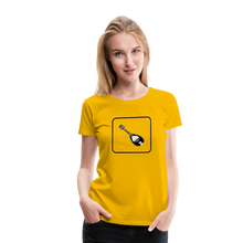 Load image into Gallery viewer, Women's Mandolin Icon T-Shirt - sun yellow